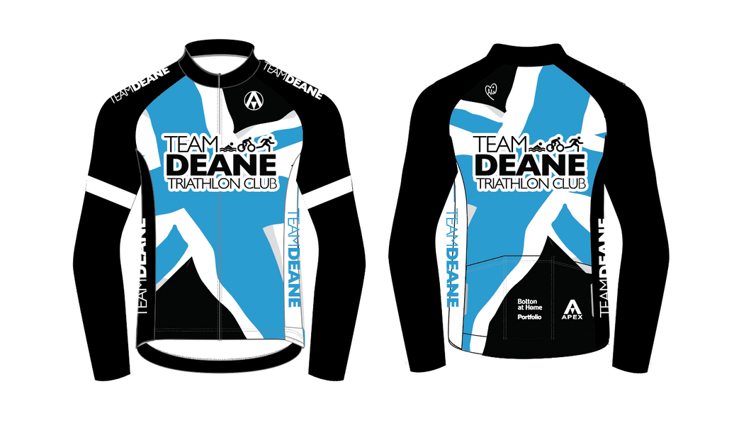 TEAM DEANE PRO LONG SLEEVE AERO JERSEY