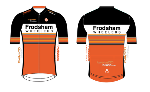 FRODSHAM WHEELERS PRO SHORT SLEEVE JERSEY