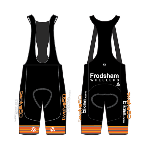 FRODSHAM WHEELERS ELITE BIB SHORTS
