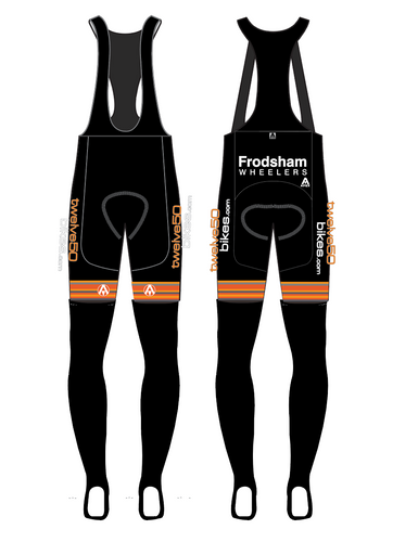 FRODSHAM WHEELERS TEAM BIB TIGHTS