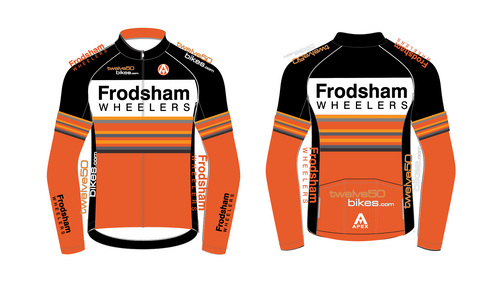 FRODSHAM WHEELERS PRO LONG SLEEVE AERO JERSEY