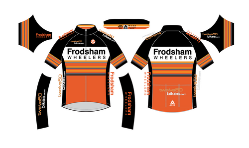 FRODSHAM WHEELERS TEAM SS JERSEY