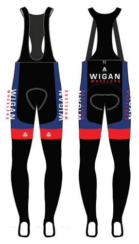 WIGAN TEAM BIB TIGHTS