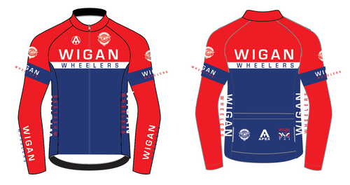 WIGAN PRO LONG SLEEVE AERO JERSEY