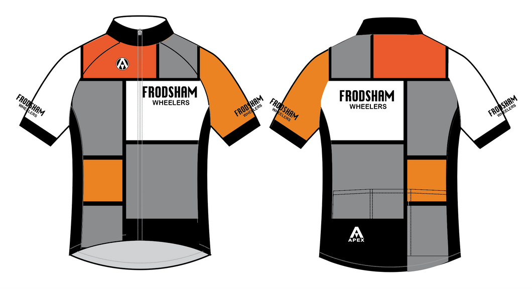 FRODSHAM WHEELERS RETRO JERSEY