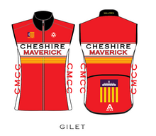 Load image into Gallery viewer, CHESHIRE MAVERICKS PRO GILET (MALLORCA)