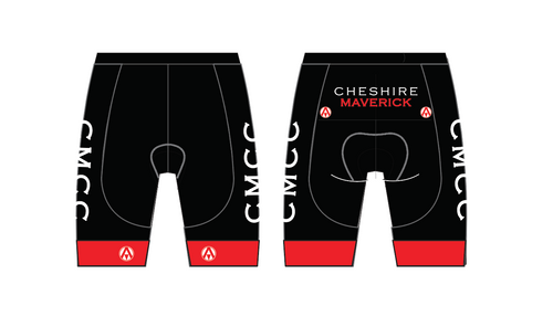 CHESHIRE MAVERICKS WOMENS TEAM CYCLING SHORTS