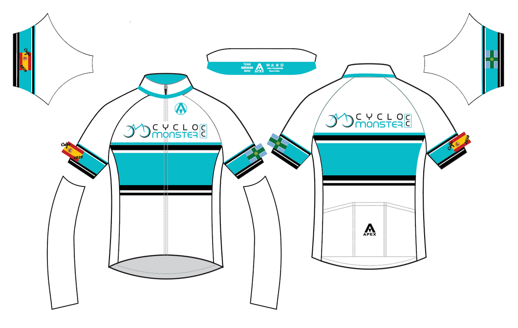 CYCLO MONSTER CC TEAM SS JERSEY