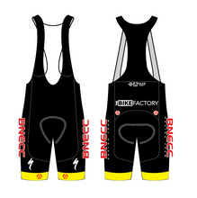 Load image into Gallery viewer, BNECC RACING TEAM ELITE BIB SHORTS