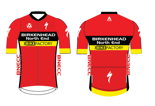 BNECC RACING TEAM  PRO SHORT SLEEVE JERSEY