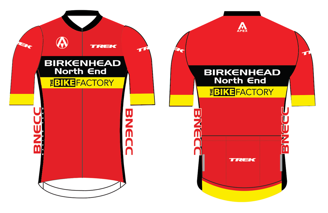BNECC RACING TEAM (TREK)  PRO SHORT SLEEVE JERSEY