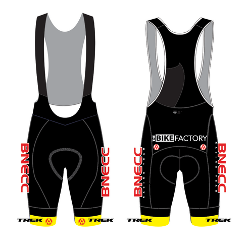 BNECC RACING TEAM (TREK) PRO BIB SHORTS