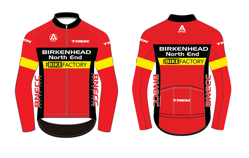 BNECC RACING TEAM  PRO LONG SLEEVE AERO JERSEY
