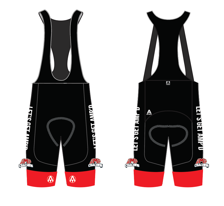 AMP COACHING TEAM BIB SHORTS