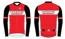 Load image into Gallery viewer, CHESHIRE MAVERICKS PRO LONG SLEEVE AERO JERSEY