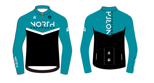 NORTH ENDUARNCE PRO LONG SLEEVE AERO JERSEY