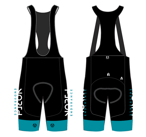 NORTH ENDUARANCE TEAM BIB SHORTS