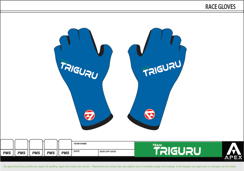 TRIGURU RACE GLOVES