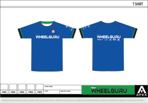 WHEELGURU FULL CUSTOM T SHIRT
