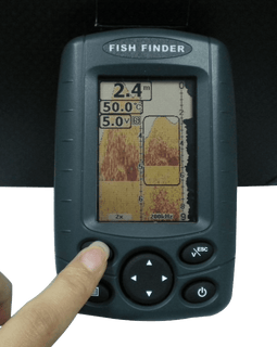 Signstek FF-003 Portable Fish Finder FishFinder Outdoor Fishing Tool Sonar Sensor Boat Fish Finder Depth Locator With LCD Display