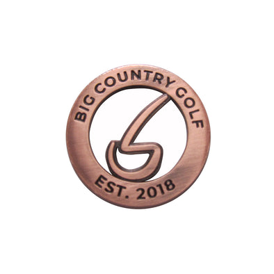 Ball Marker - Copper