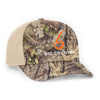 Big Country 6 Panel Retro Trucker - Breakup Country/Khaki