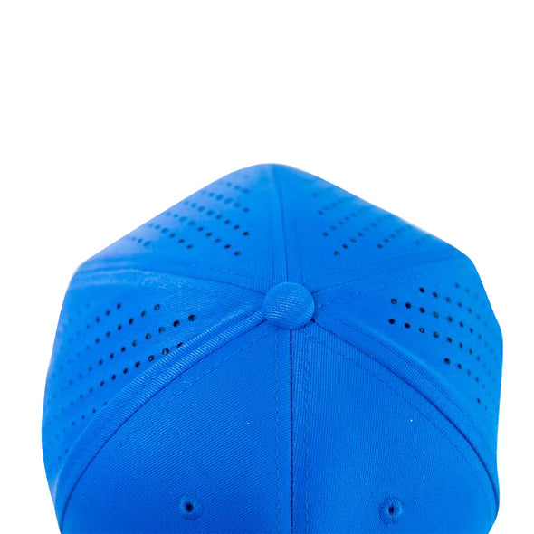 Perforated Performance Cap - USA Royal Blue