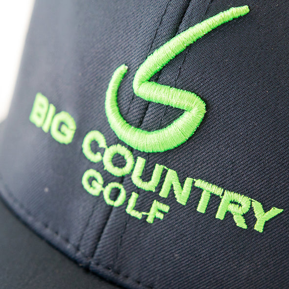 Big Country Perforated Performance Cap - Navy