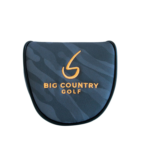 Big Country Golf Camo Headcover - Orange