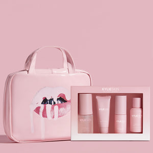 Lips Travel Case & 4-Piece Mini Bundle