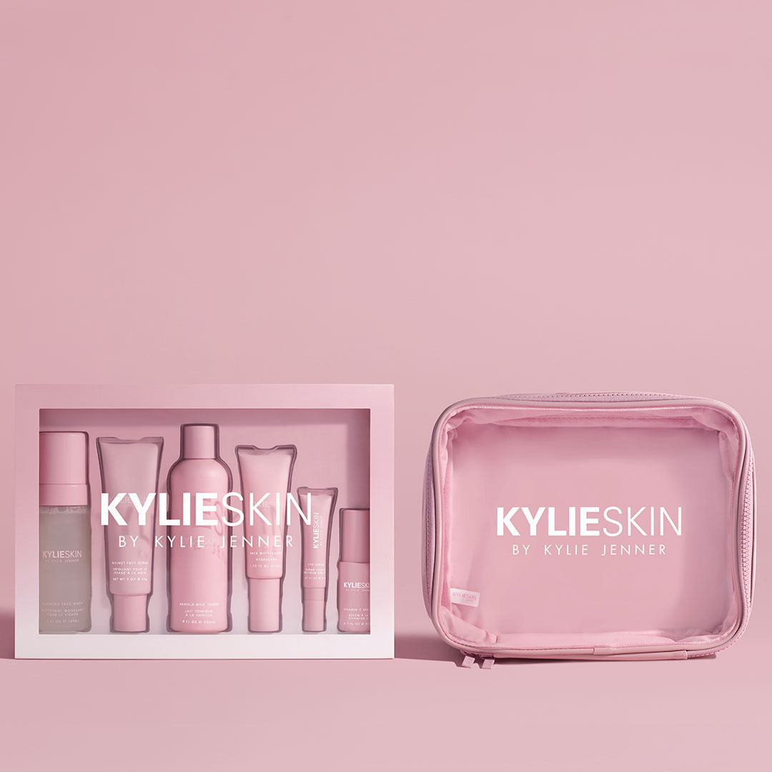 Kylie Skin Set with Travel Bag