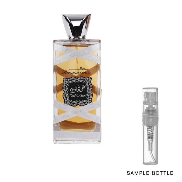 LATTAFA Oud Mood Silver Reminiscence Eau de Parfum Spray - Sample Vial