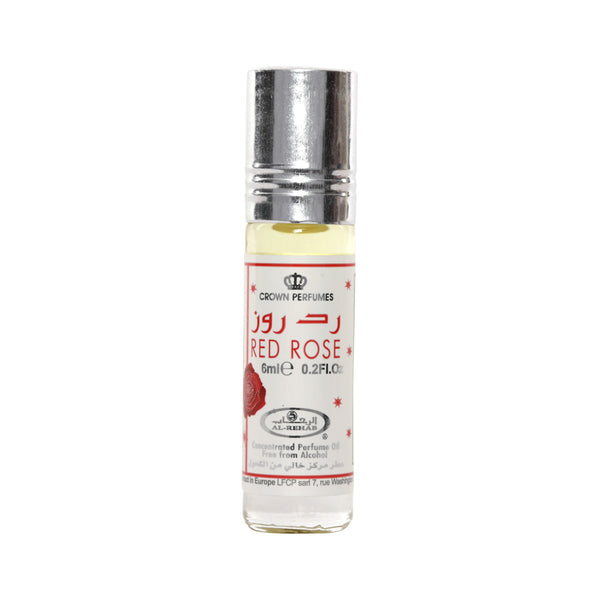 AL REHAB Red Rose Perfume Oil 6ml - Elite Perfumery