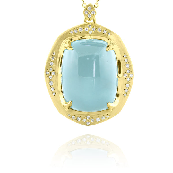 Aqua Crown Pendant