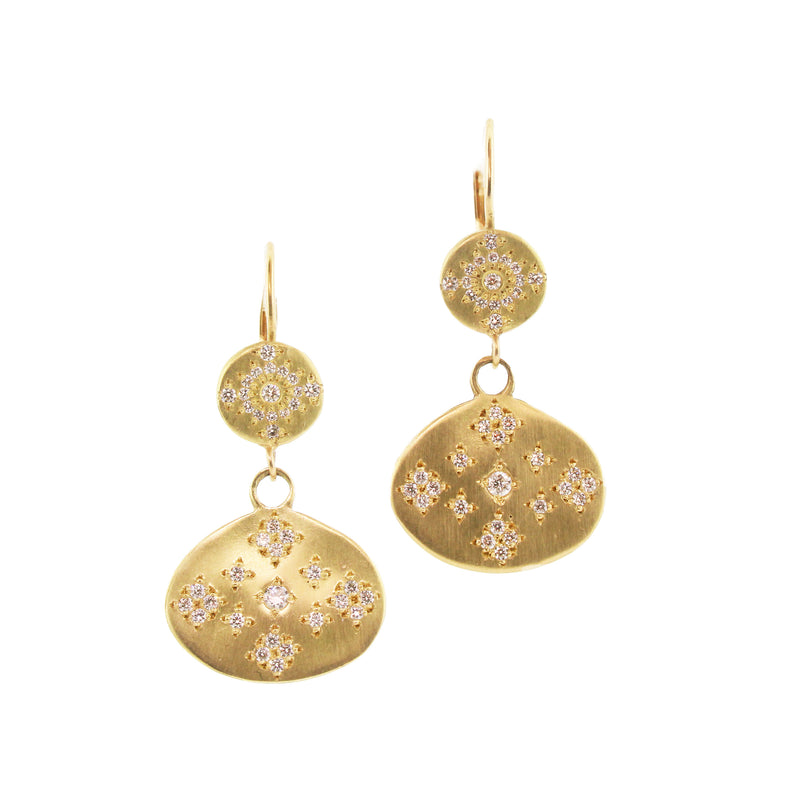 MOON & STARS SHIMMER EARRINGS