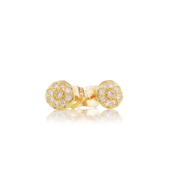 CHARM STUD EARRINGS