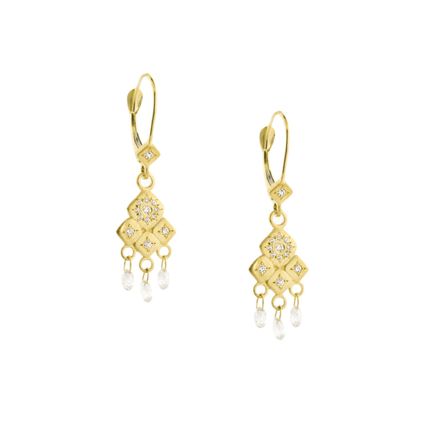 Mosaic Diamond Earrings