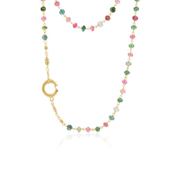 BEADED MULTI-COLOR TOURMALINE