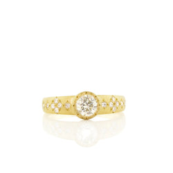 TAPERED MEMORIES SOLITAIRE RING
