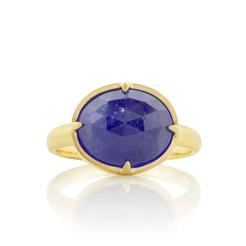 Tanzanite Prong Ring