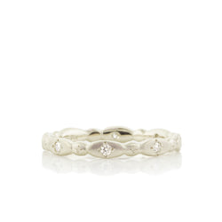 OVAL & ROUND ETCHED RING