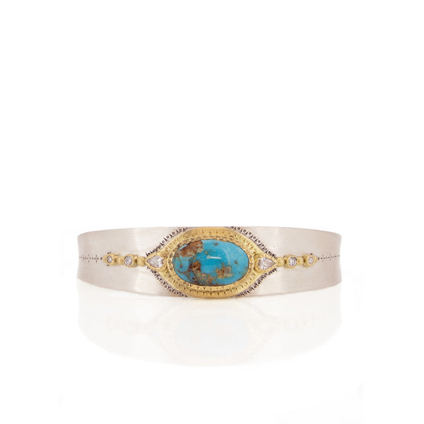 PERSIAN TURQUOISE HARMONY CUFF