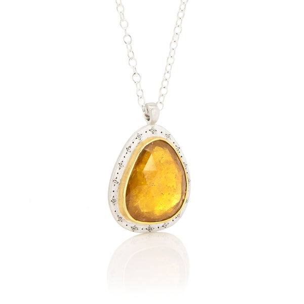 Golden Tourmaline Necklace