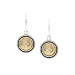 SMALL ROUND HARMONY EARRINGS