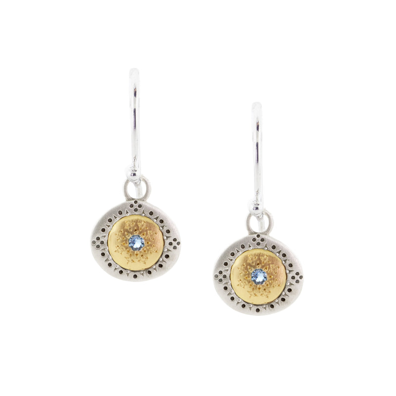 SEEDS OF HARMONY SINGLE STONE EARRINGS