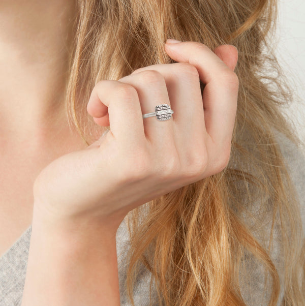 SQUARE NOMAD RING
