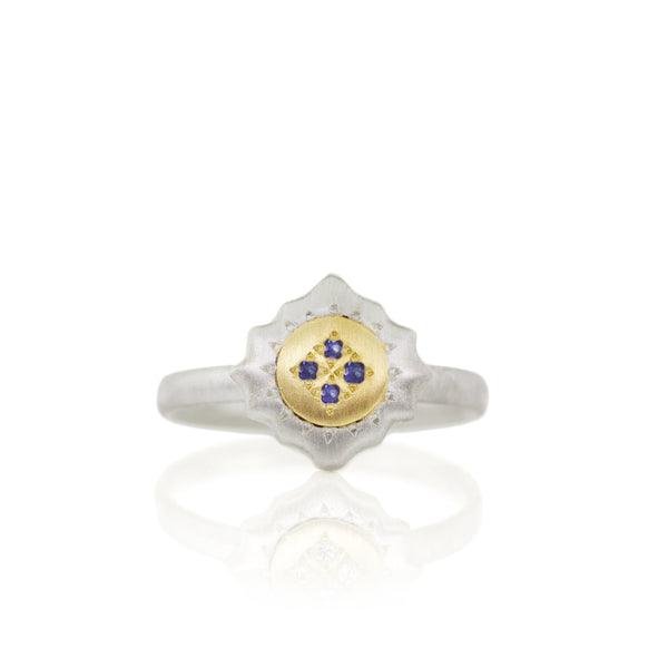 EAST AND WEST CHARM RING