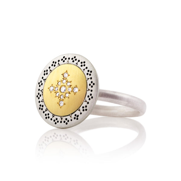 ROUND SEEDS OF HARMONY RING