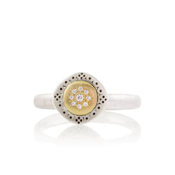 SEEDS OF HARMONY CHARM RING