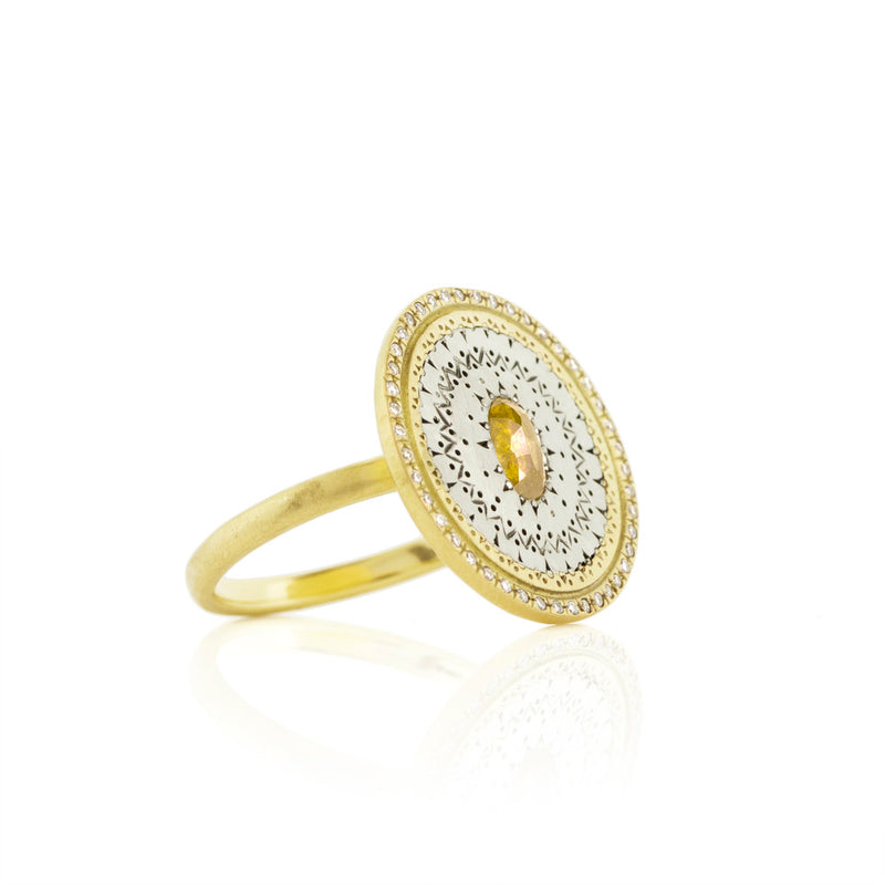 Round Flame Ring